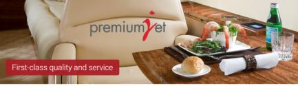 Willkommen bei Premium Jet AG